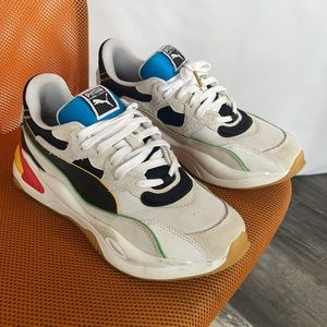 Puma 10 sneakers shoes rainbow